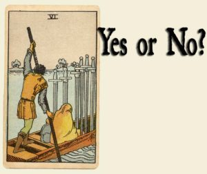 Read more about the article 6 of Swords – Yes or No?