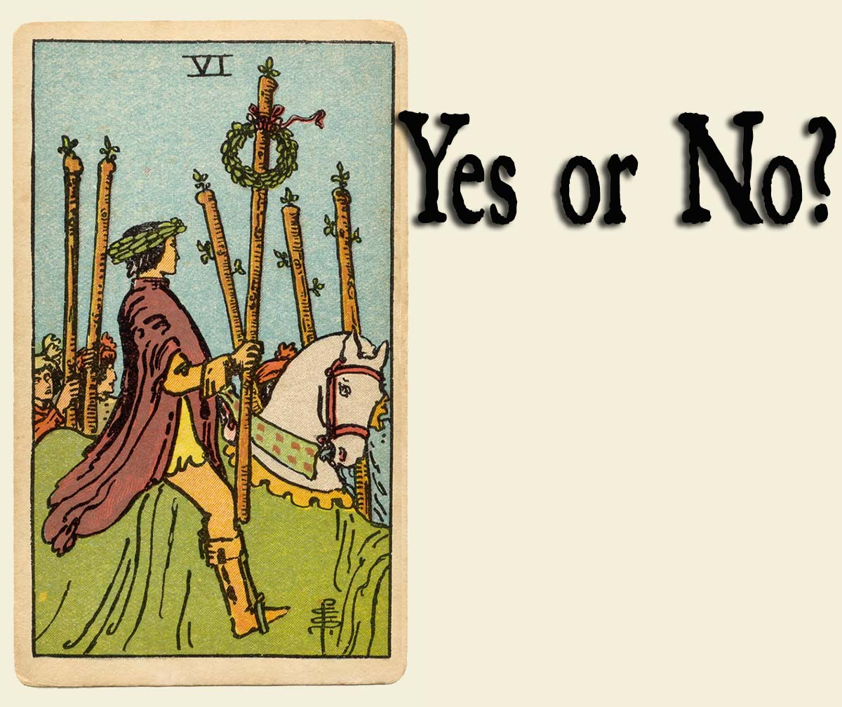 6 of Wands Yes or No?