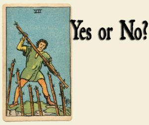 7 of Wands – Yes or No?