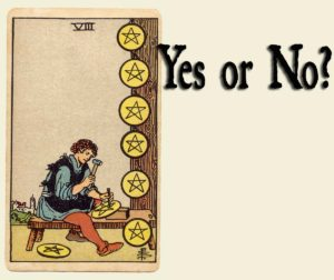 Eight Of Pentacles – Yes or No?