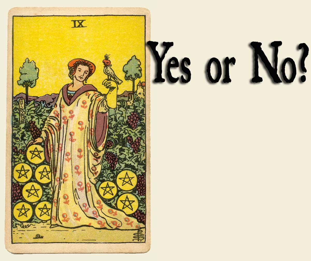 You are currently viewing Nine Of Pentacles – Yes or No?