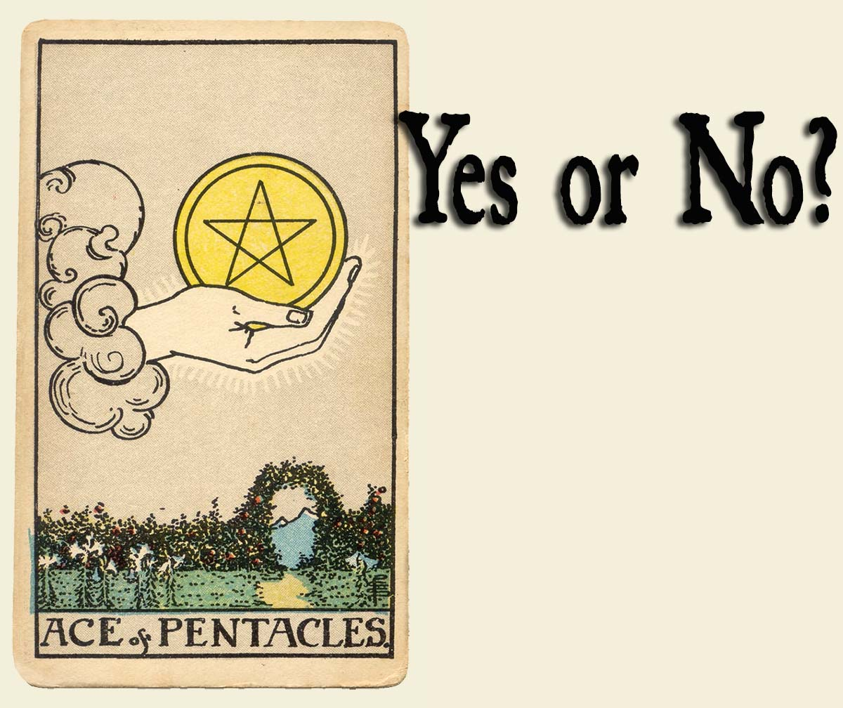 Ace of Pentacles – Yes or No?
