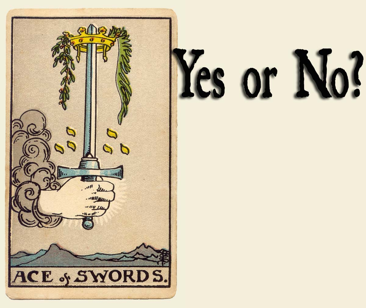 Ace of Swords – Yes or No?
