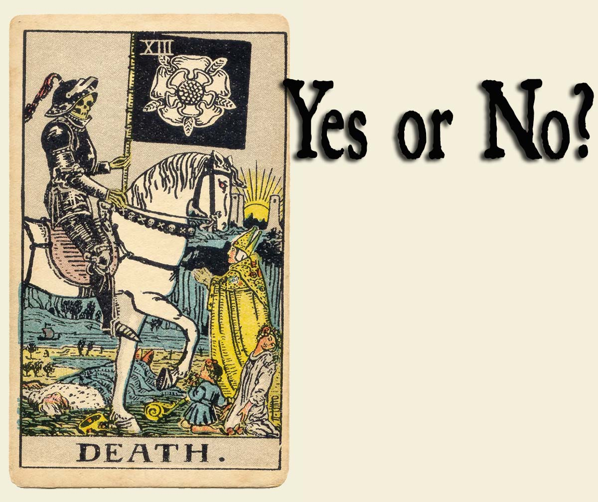 Death Tarot Card – Yes or No