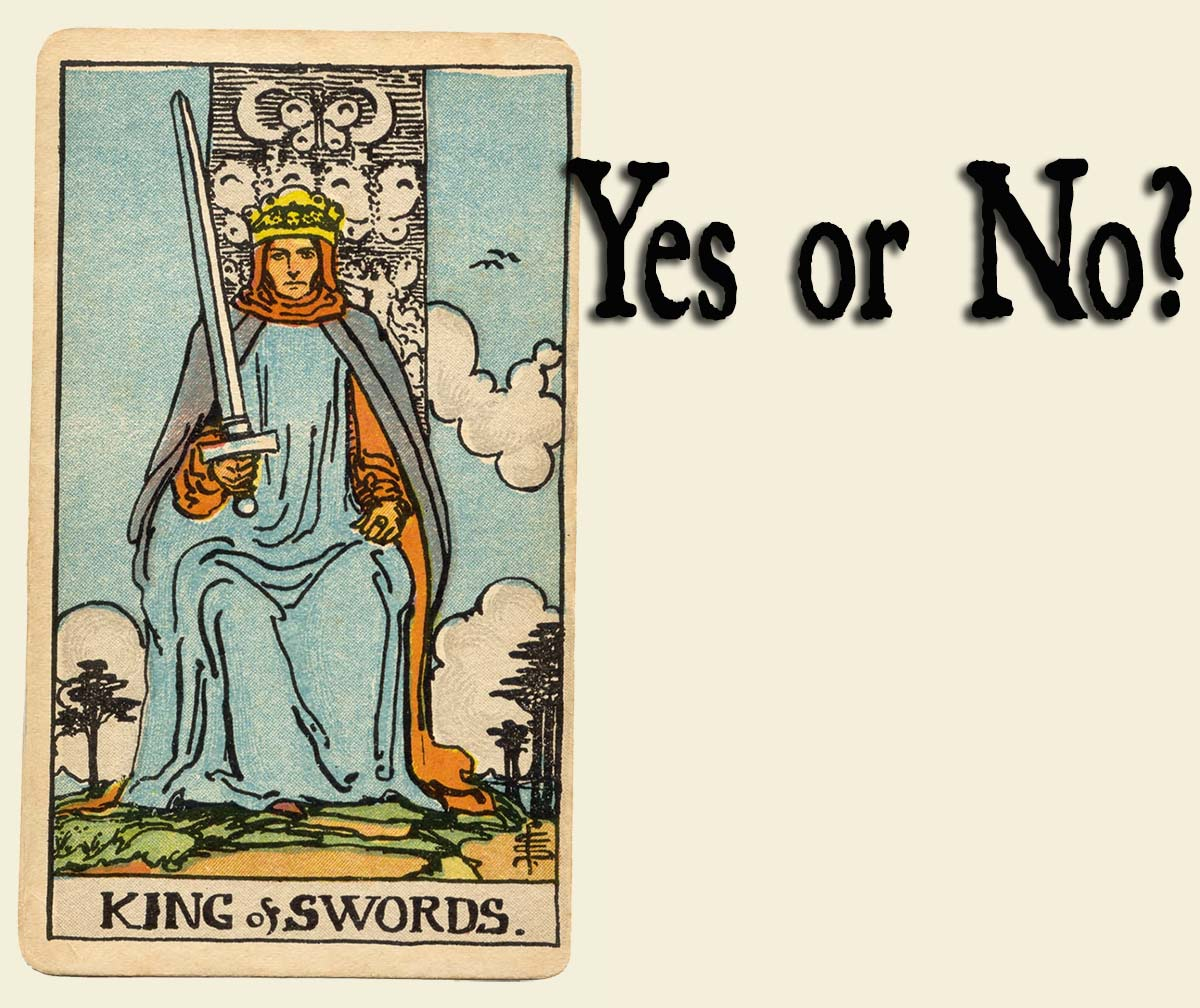 You are currently viewing King of Swords – Yes or No?