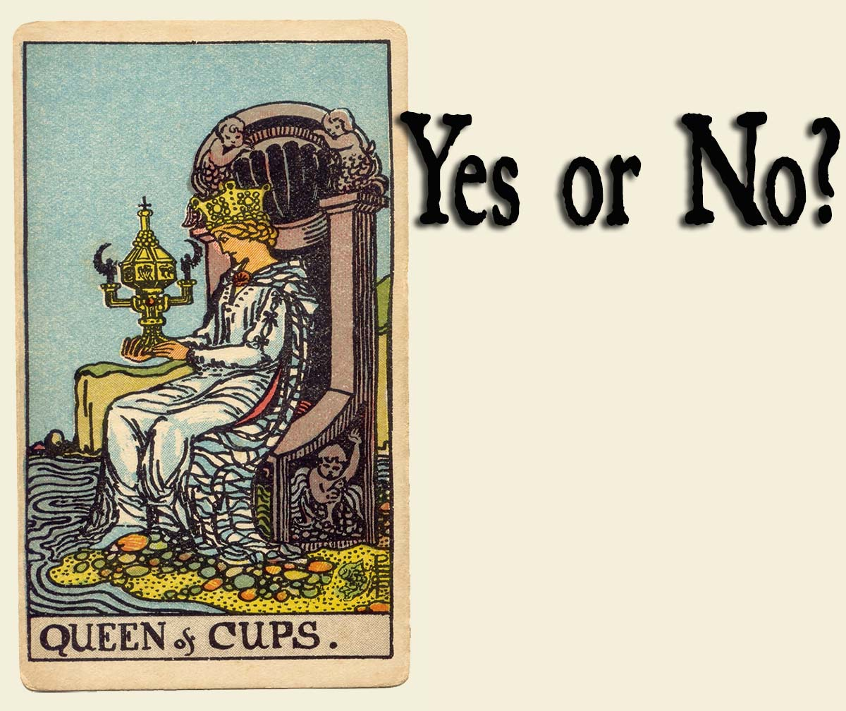Queen of Cups – Yes or No