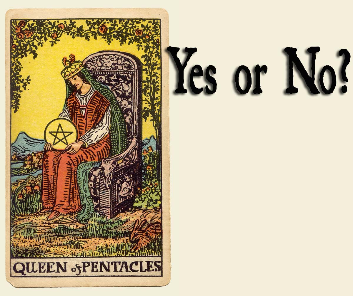 Queen of Pentacles – Yes or No?
