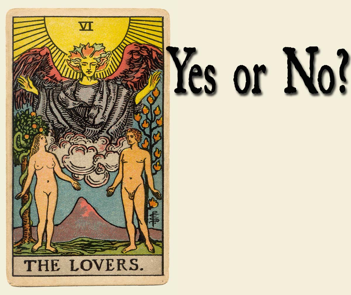 The Lovers Tarot Card – Yes or No?