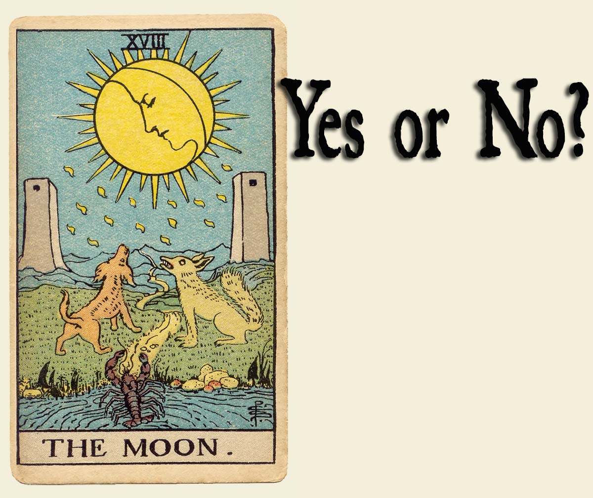 You are currently viewing The Moon Tarot Card – Yes or No?