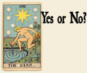 The Star Tarot Card – Yes or No Meaning