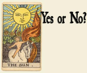 The Sun Tarot Card – Yes or No?