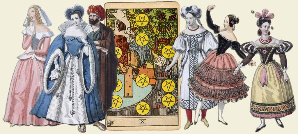 10 of pentacles reversed tarot card meaning yes or no