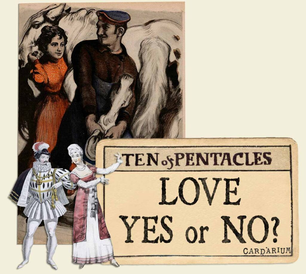 10 of pentacles tarot card meaning for love yes or no