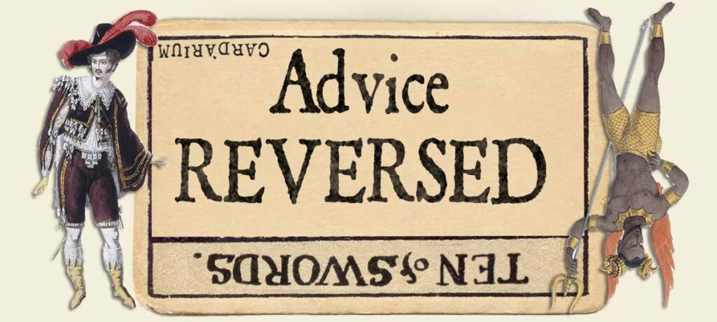 10 of swords reversed advice yes or no
