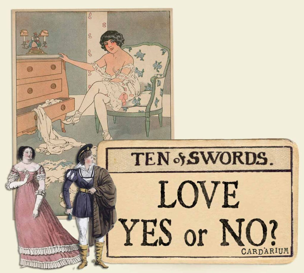 10 of swords tarot card meaning for love yes or no