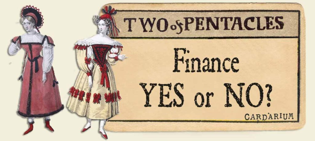 2 of pentacles finance yes or no