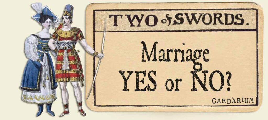 2 of swords marriage yes or no
