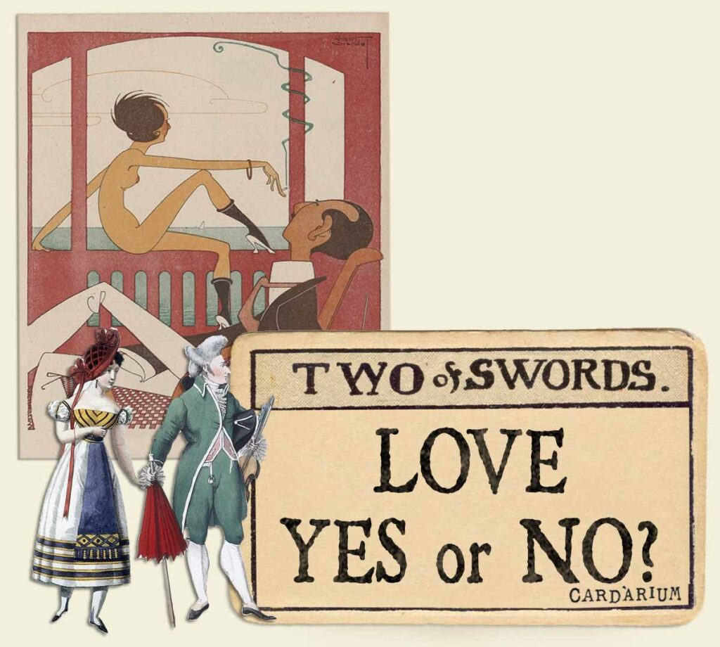 2 of swords tarot card meaning for love yes or no