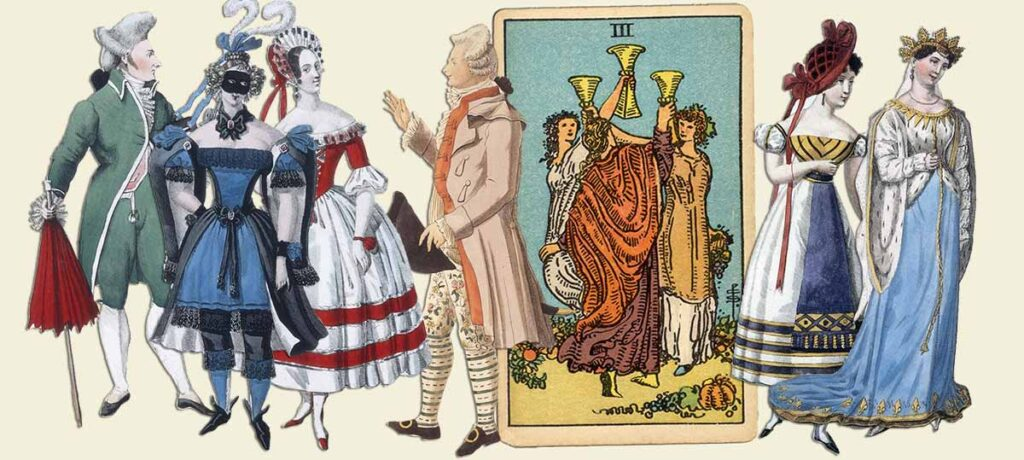 3 of cups tarot card meaning yes or no