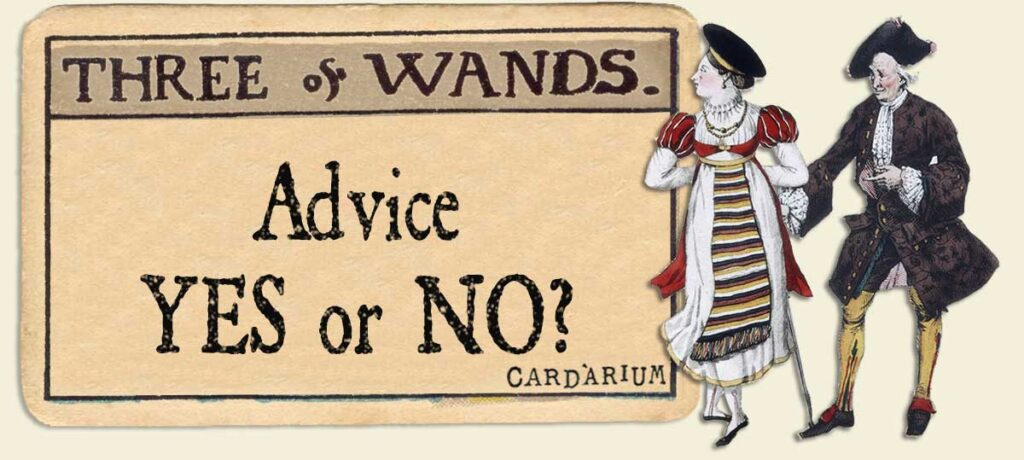 3 of wands Advice Yes or No