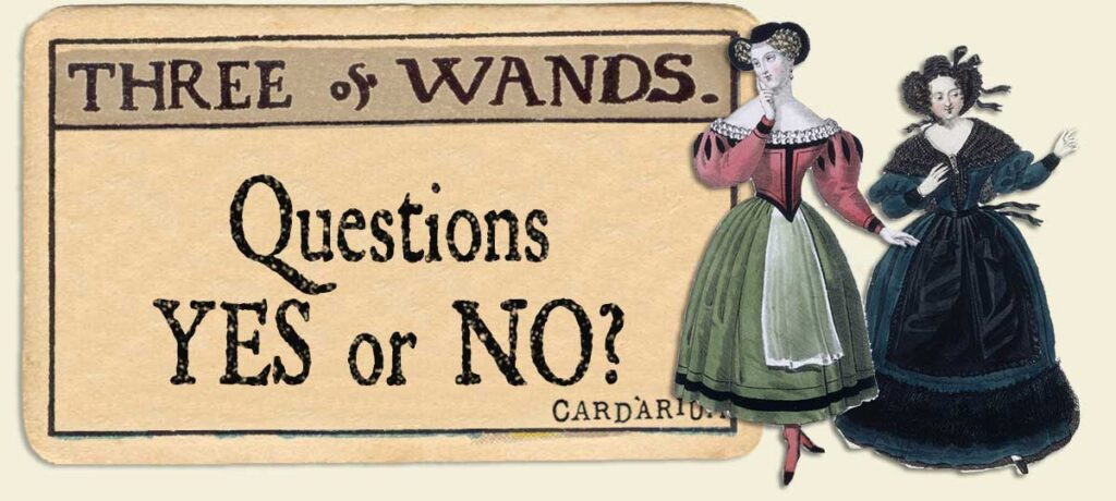 3 of wands Yes or No Questions