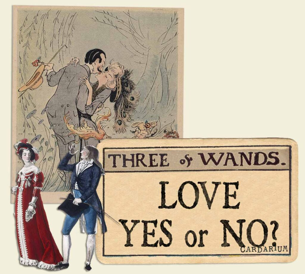 3 of wands tarot card meaning for love yes or no