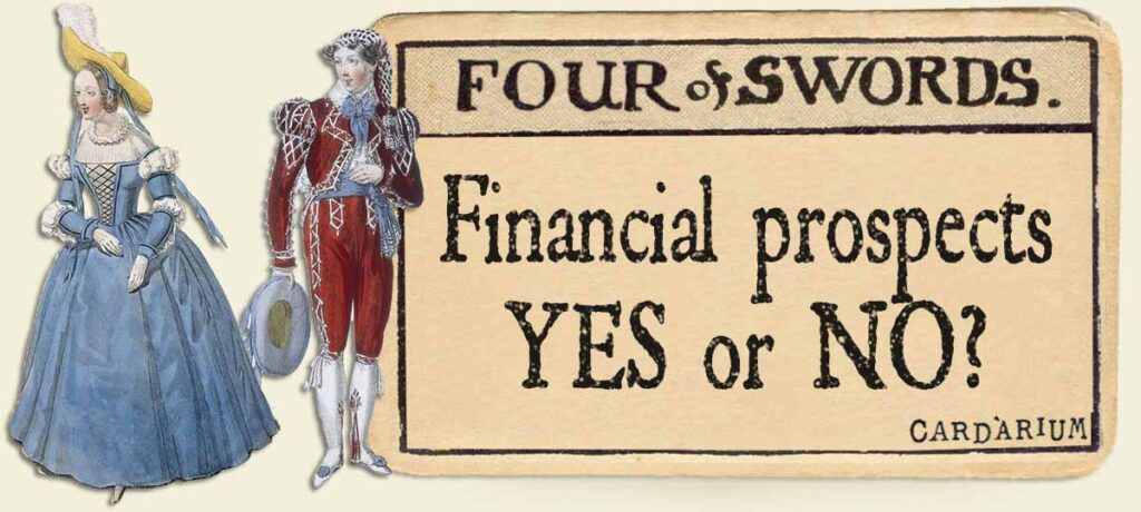 4 of swords financial prospects yes or no