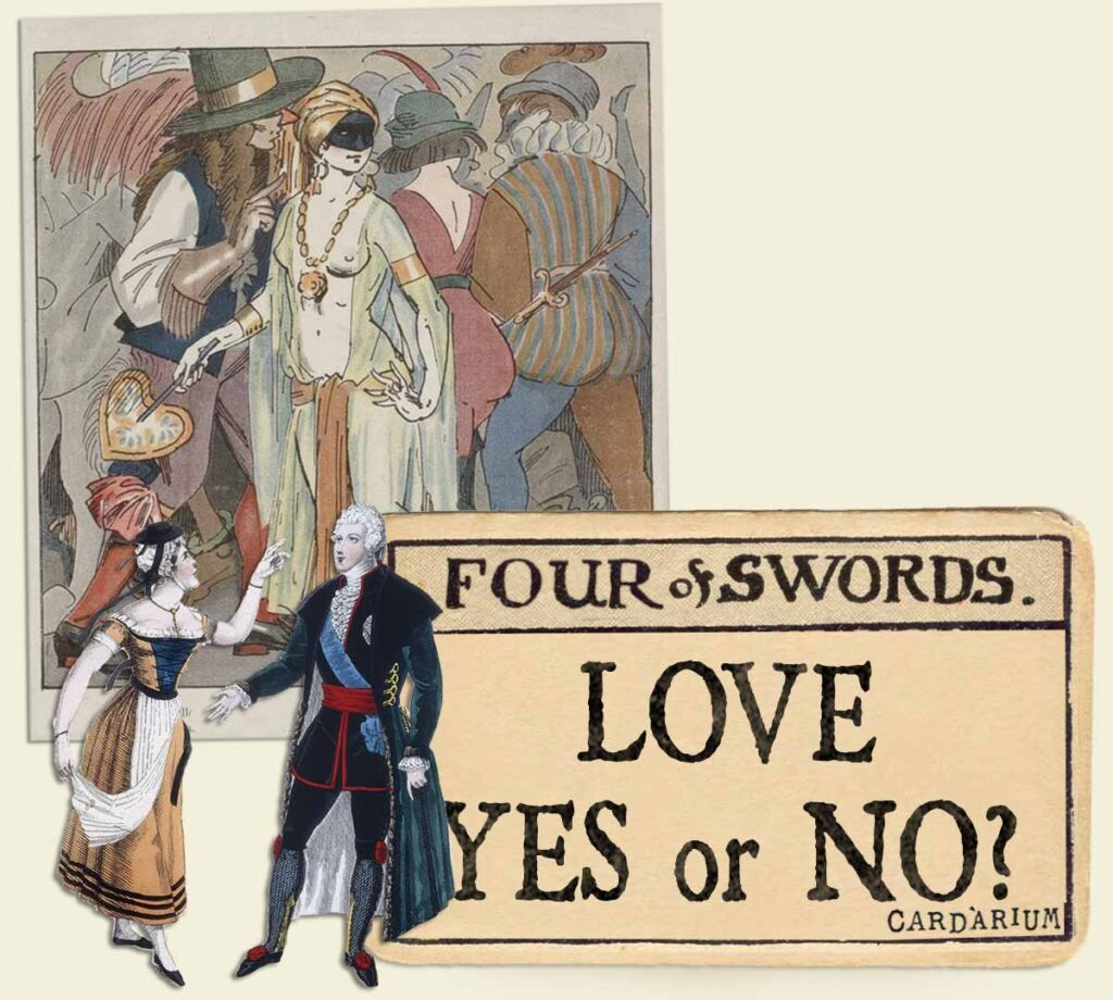 4 of swords tarot card meaning for love yes or no