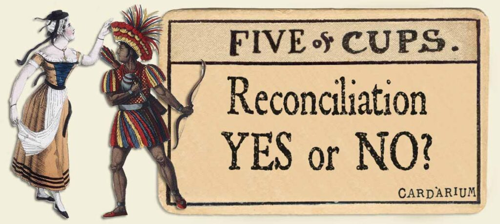 5 of cups reconciliation yes or no