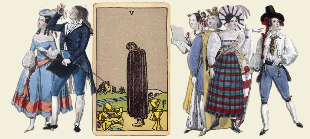 5 of cups tarot card meaning yes or no