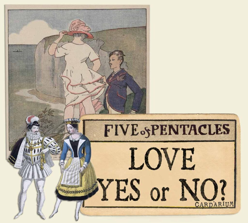 5 of pentacles tarot card meaning for love yes or no