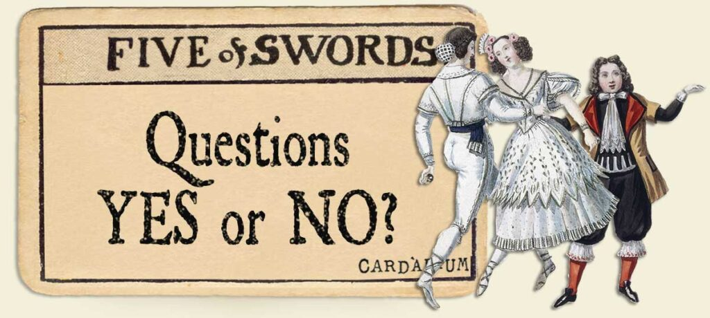 5 of swords Yes or No Questions
