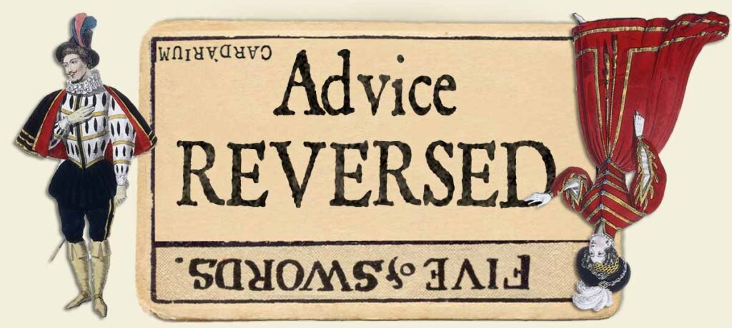 5 of swords reversed advice yes or no