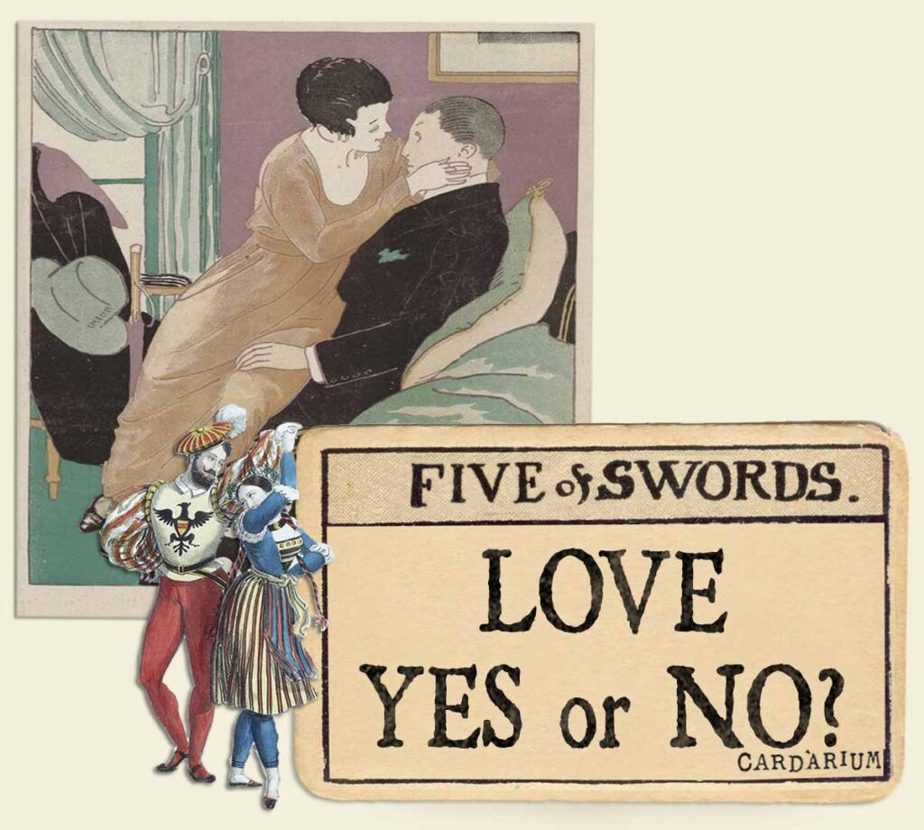5 of swords tarot card meaning for love yes or no 01