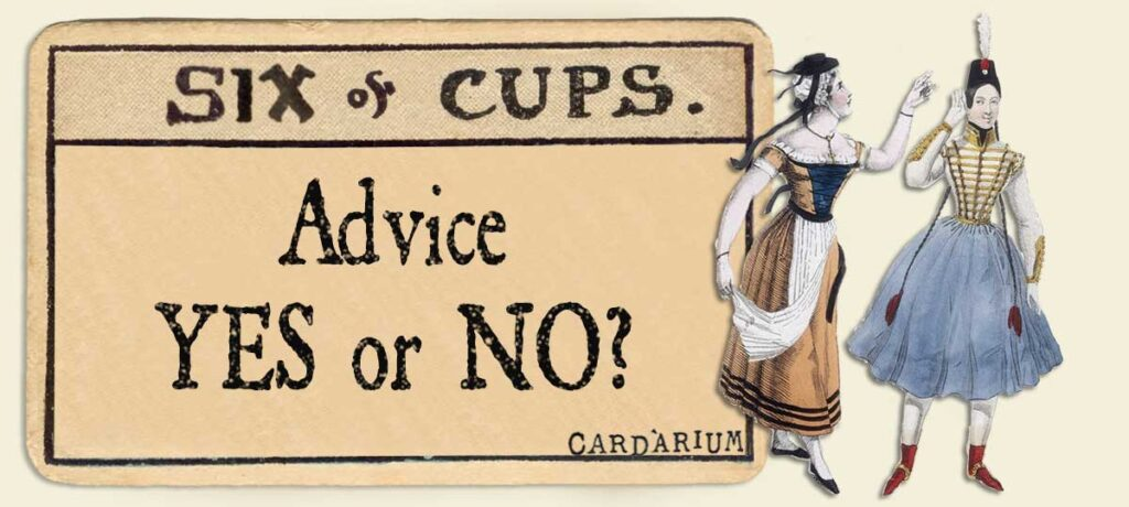 6 of cups Advice Yes or No
