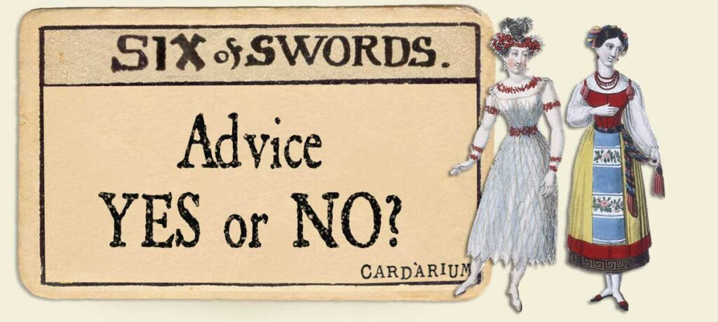 6 of swords Advice Yes or No