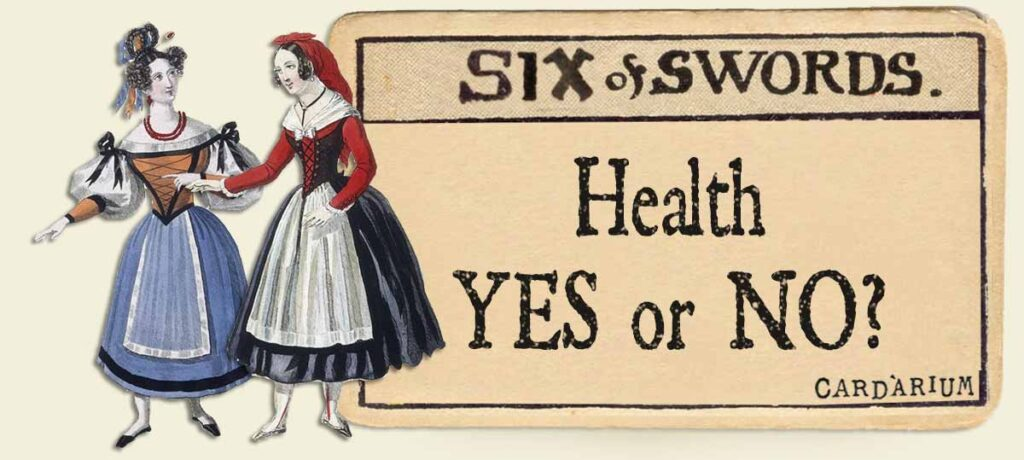 6 of swords health yes or no