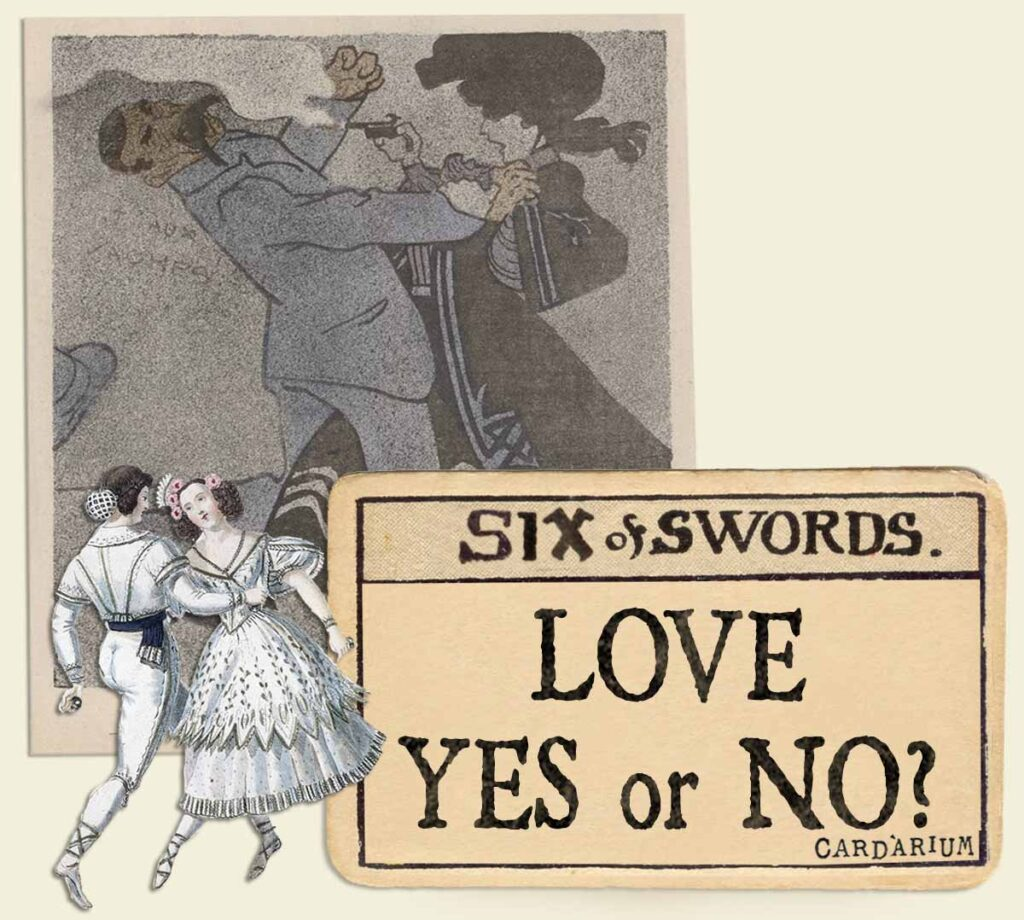 6 of swords tarot card meaning for love yes or no
