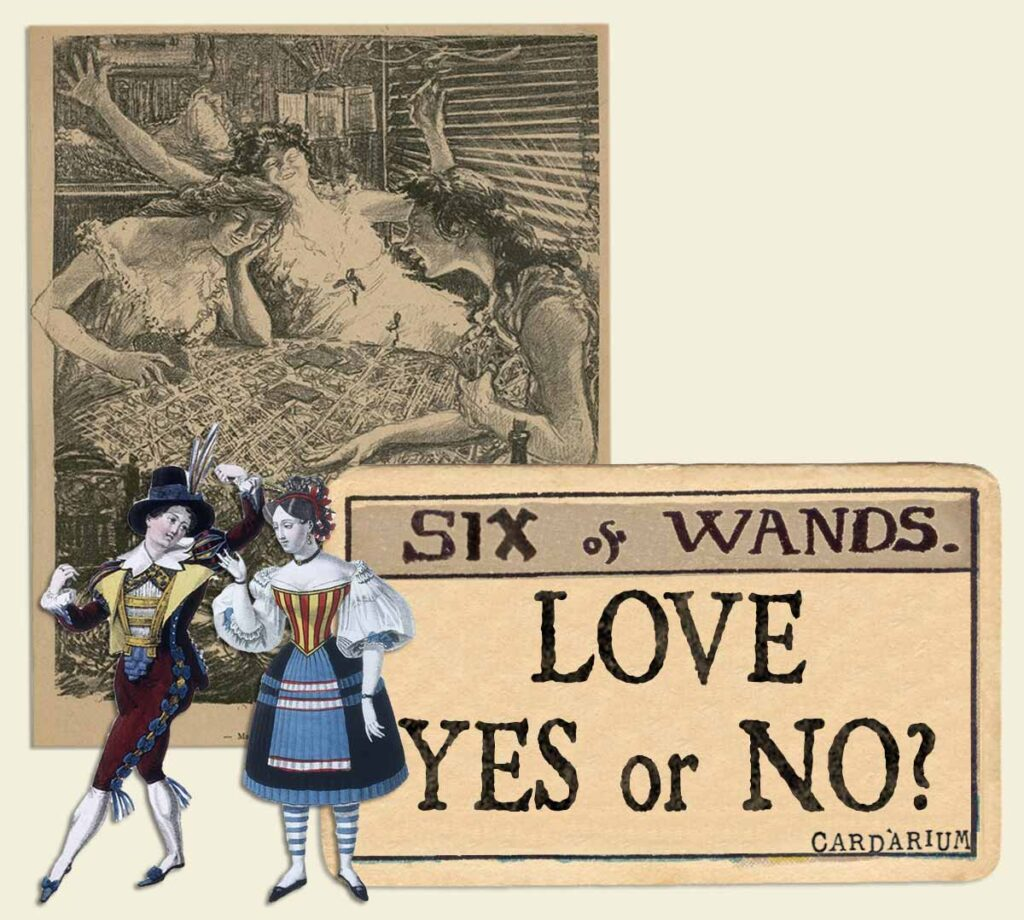 6 of wands tarot card meaning for love yes or no