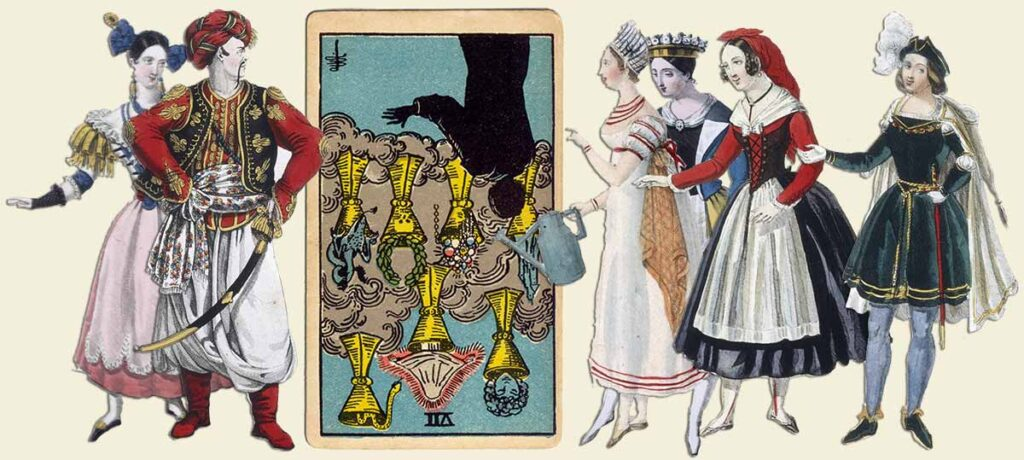 7 of cups reversed tarot card meaning yes or no
