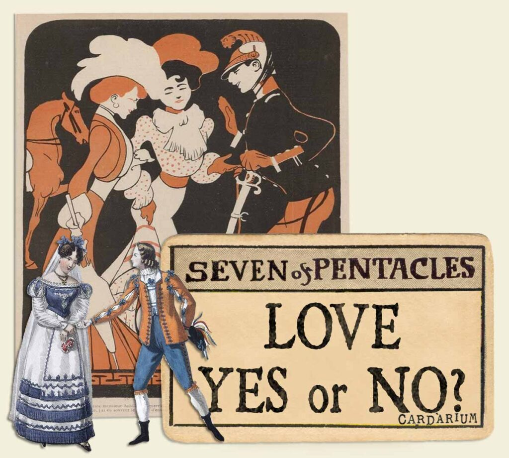 7 of pentacles tarot card meaning for love yes or no