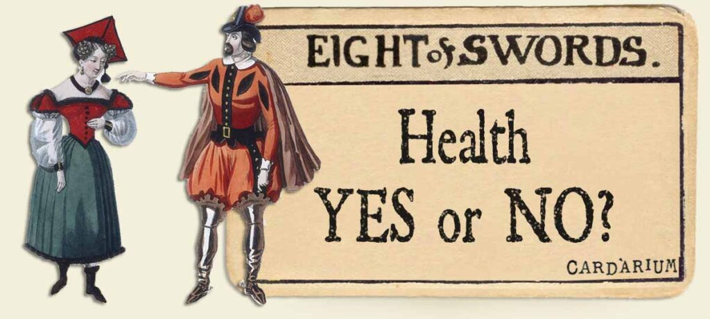 8 of swords health yes or no