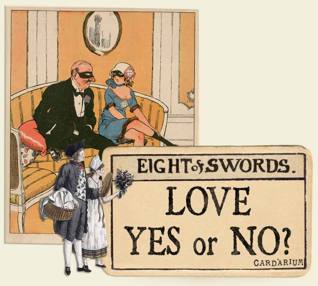 8 of swords tarot card meaning for love yes or no