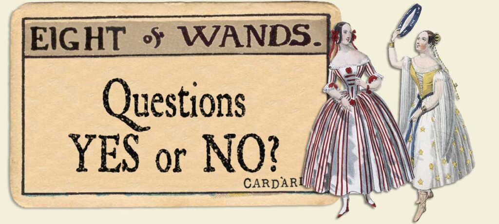 8 of wands Yes or No Questions