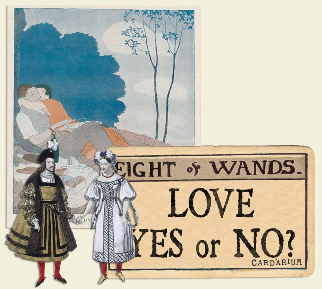 8 of wands tarot card meaning for love yes or no