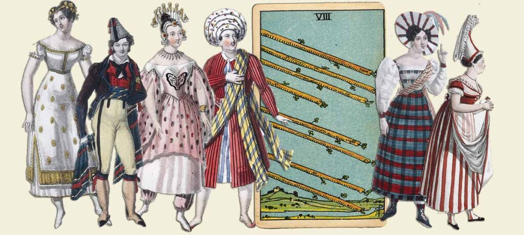 8 of wands tarot card meaning yes or no