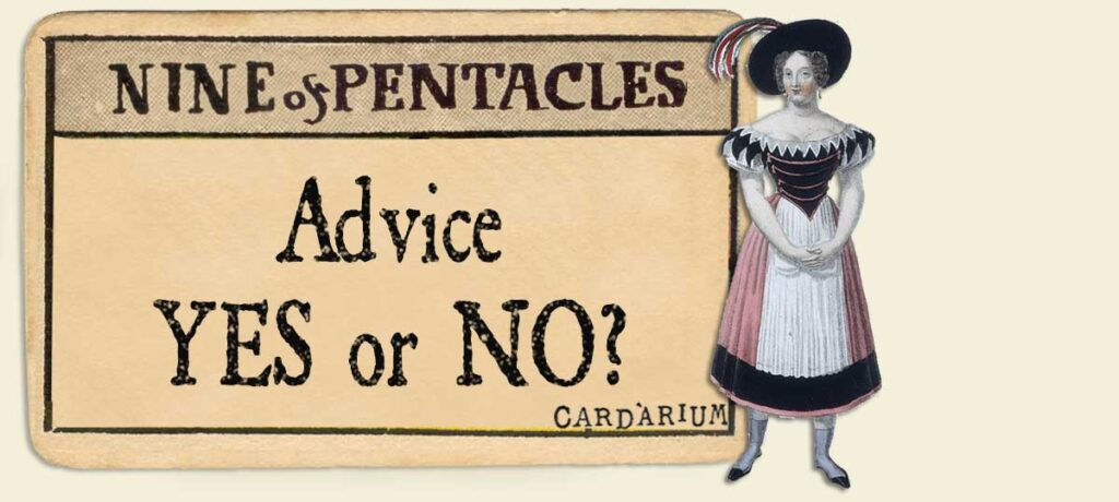 9 of pentacles Advice Yes or No