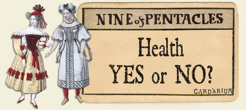 9 of pentacles health yes or no