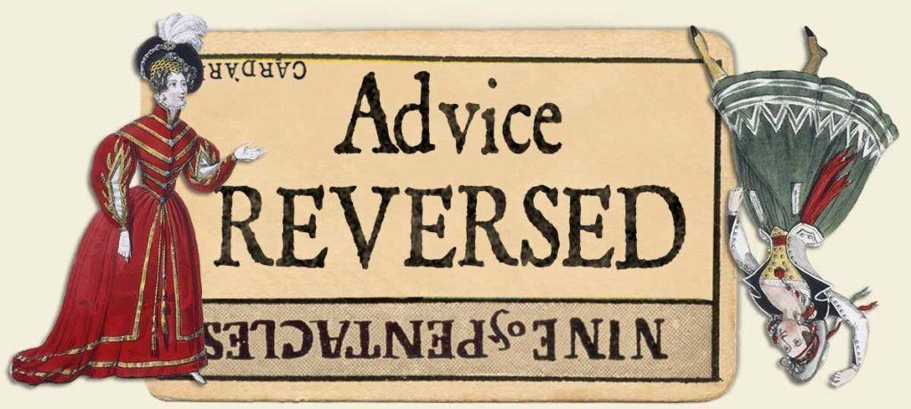 9 of pentacles reversed advice yes or no