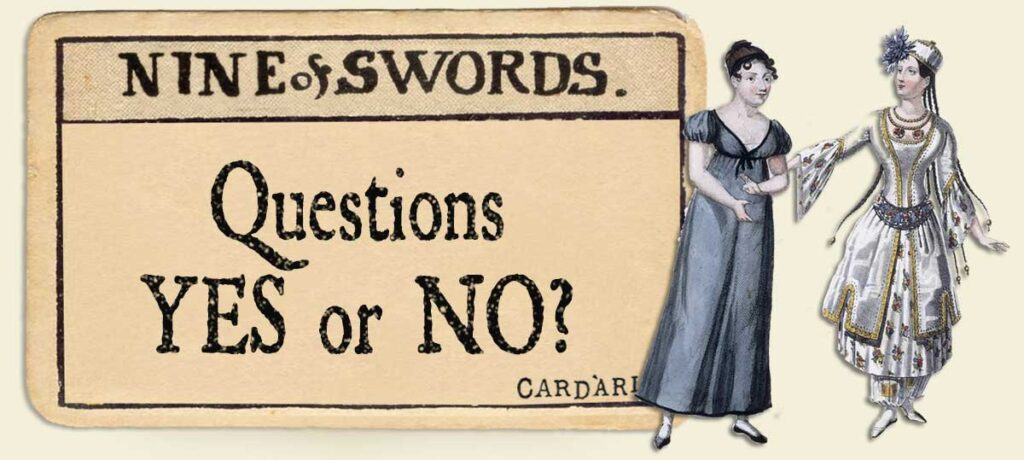 9 of swords Yes or No Questions